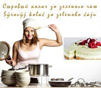 Sŷrovŷj kolač zo zelenoho čaju / Сыровый колач зо зеленого чаю