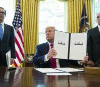 Трамп підписав новы санкції проти Ірана