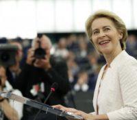 Зволіня Урсулы фон дер Леєновой за председничку Европской комісії выкликало много позитивных , але і неґатівных реакцій