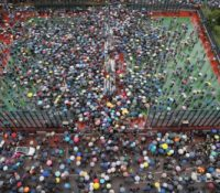 В Гонґконґу протестувало 1,7 міліонів людей
