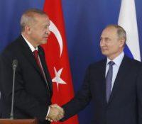 Ердоґан ся стрітнув з Путіном