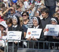 В Братіславі ся одбыв за права ненародженых дітей
