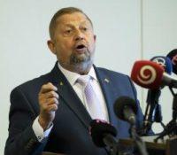 Штефан Гарабін є волебным лідром політичной партії Власть