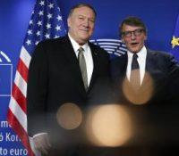 Помпео на навщіві НАТО