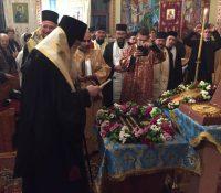 В Бенятині посвятили основный камінь монастыря