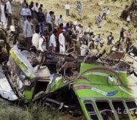 17 людей прийшло о жывот при аварії автобусу в Непалі