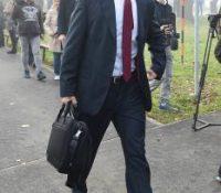 Ґабор Ґал на  засіданю Рады ЕУ про справодливість в Бруселі.