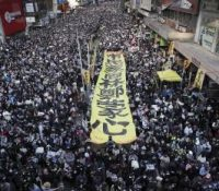 Гонґконґу ся одбыв дальшый масовый мітінґ