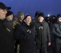 Київ і обідві сепаратистичны републикы на выході Україны скінчили выміну затриманых осіб.