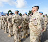 Словацькых вояків в Афґганістанї потїшыли школярї в Баньской Быстріцї