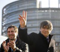 Пуждемон пришов на засіданя европарламенту до Бруселу