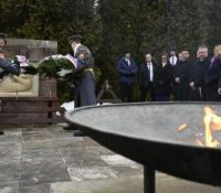 Одбыла ся споминкова події з нагоды 75-го выроча выпаліня села Острый Ґрунь і Кляк в окресі Жарновіца націстичныма частями