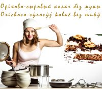 Orichovo-sŷrovŷj kolač bez mukŷ