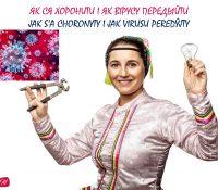 Jak s'a choronyty i jak virusu peredŷjty / Як ся хоронити і як вірусу передыйти