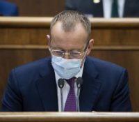 Коллар одкрыв пяте засіданя парламенту