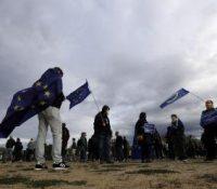 В Празі ся одбыв протест протів поступу чеськой влады  в бої з пандемійов