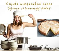 Sŷrovo citronovŷj kolač