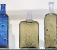В Кошыцях сприступнили выставу скляняных выробків Погляд через скло