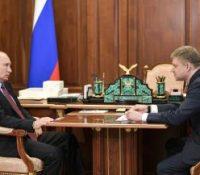 Путін ся вернув до Кремля