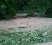 Сітуація по зливах в Бардейовскім окресі стабілізована