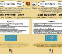 В Меджілабірцях ся одбуде  День Русинів – 2020