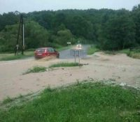 На векшыні Словакії досягла уровень водных токів ступінь поводньовой актівіты