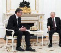 Александер Вучіч ся стрітнув з Владіміром Путіном