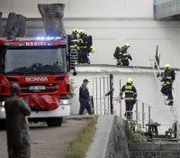 Пожар в ареалї ґалерії в Празї собі выжадав евакуацію сто людей