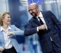 Лідрі Унії схвалили грошы про єкономіку по пандемії