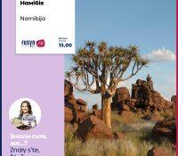 … v juhozapadnij Namibiji ležyť rozs'ahla teritorija de bŷv navščivnykam zakazanŷj … 14.7.2020