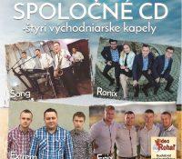 Spoločné CD – štyri východniarske kapely