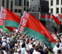 В Мінску ся одбыв покы найвекшый протест по презідентьскых вольбах