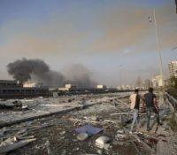 При выбухох в Бейруті прийшло о жывот 73 людей  і найменше 3700 было пораненых