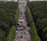 В Берліні протестувало аж 1,3 міліоніов людей
