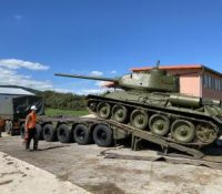 До центра Капішовой перестяговали два танкы