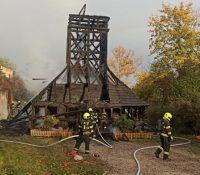 В Празі згоріла русиньска деревяна церьков