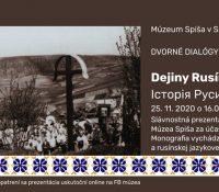 Одбуде ся святочна презентація двоязычной словацько-русиньской моноґрафії о історії Русинів на Спішу