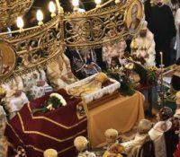 Одбыв ся погріб главы сербской православной церькві