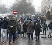 В Білоросії протестовали пензісты