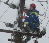 В Банскобыстріцькім краю  суть без електрикы десяткы тісяч домашности