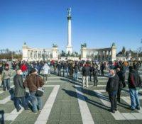 В Мадярьску ся протестовало і в понедільок
