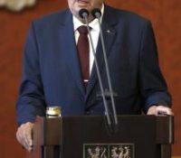 Чеського презідента хотять обвинити з велезрады