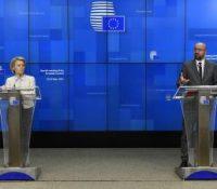 Лідры ЕУ занимали ся і односинами з Російов а Великобрітанійов