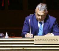 Орбан їднав з председом австрійского парламенту