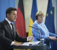 Меркелова надіять ся на продовжованя транзіту ґазу через Україну