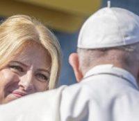 Папа Франціск ся днесь стрітнув з найвысшыма представителями штату