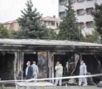 В Северній Мацедонії при пожарі в шпиталю прийшло о жывот десять людей