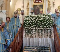 Першый раз святкував ся праздник Клокочівской іконы Богородіці